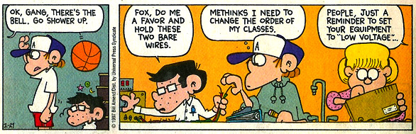 Foxtrot panel: Goldwater gets revenge on Peter