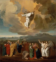 The Ascension of Christ by John Singleton Copley c. 1774