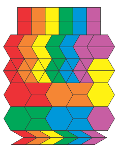 picture about Printable Pattern Blocks called Totally free Printable Habit Blocks - Jessicas Corner of Cyberspace