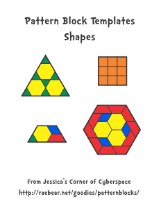 Pattern block templates from jessicas corner of cyberspace shapes 3 12 sided pronofoot35fo Choice Image