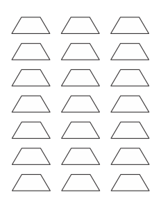photo relating to Printable Pattern Blocks named Absolutely free Printable Routine Blocks - Jessicas Corner of Cyberspace